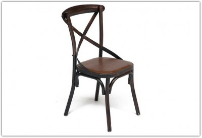 Стул CROSS CHAIR в стиле лофт